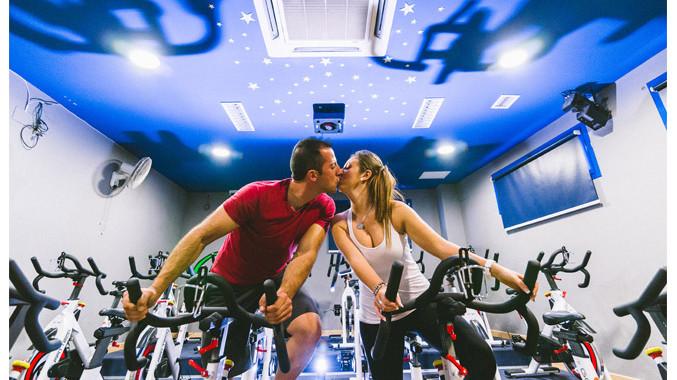 Miguel Ángel y Lidia | Preboda en un gimnasio