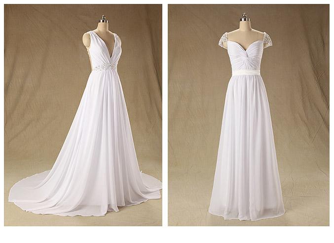 tipos de vestido para novias y tendencias de famosas | fotógrafos
